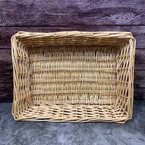 Other - Woven Wicker Basket